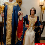 Re e Regina medievale