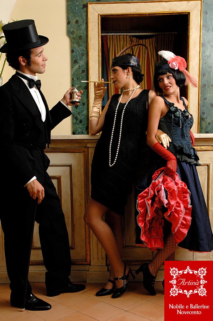 Super Abito stile anni 30 books - Fashion touch italy TF43