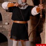 costume arciere medievale