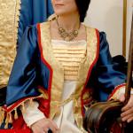 dettaglio costume regina