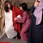 Gesù la Veronica e le pie donne