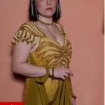 Cleopatra costume e parrucca