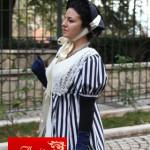 abito d'epoca dama 1820