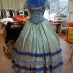 abito dama dell'800