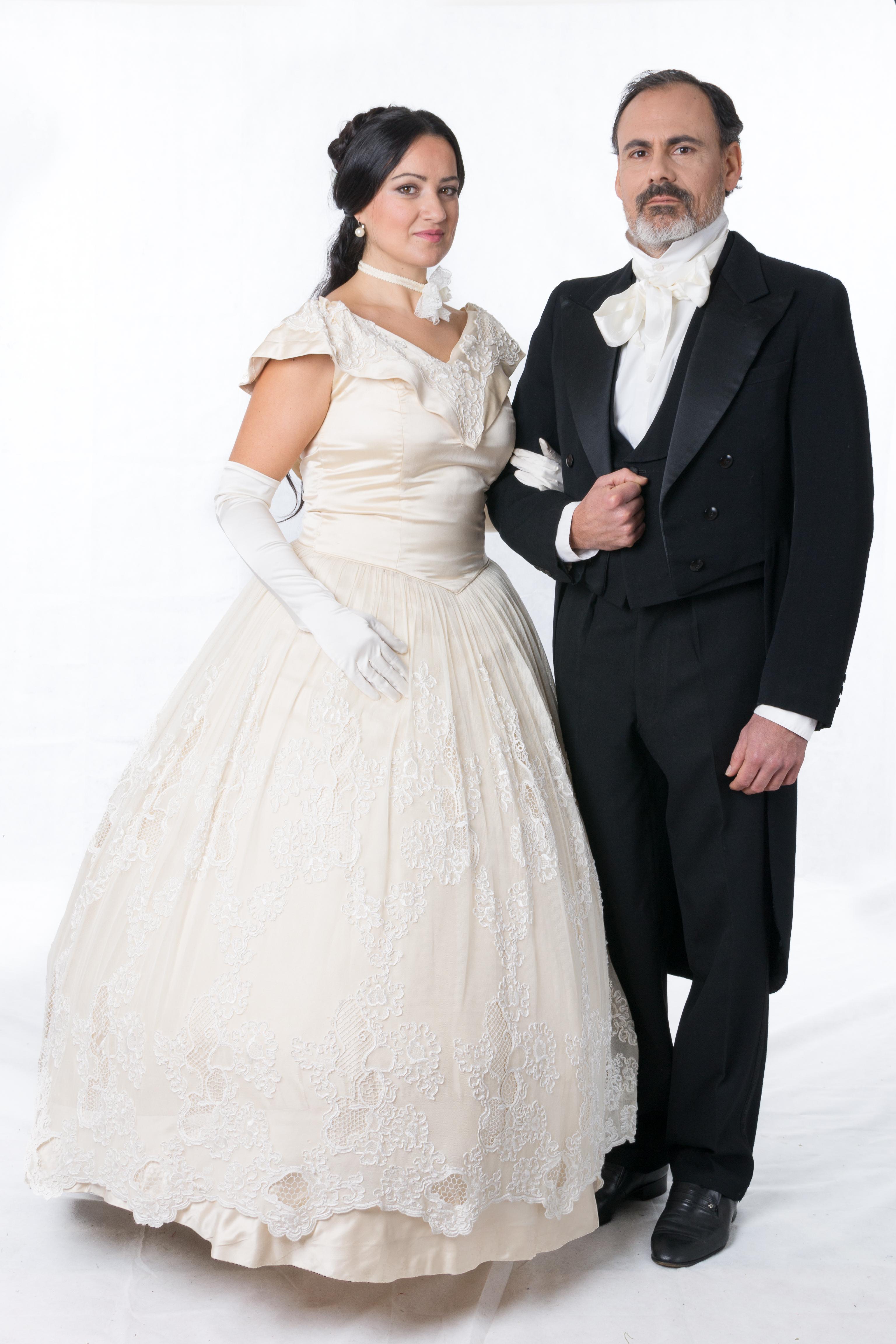 coppia nobili ottocento
