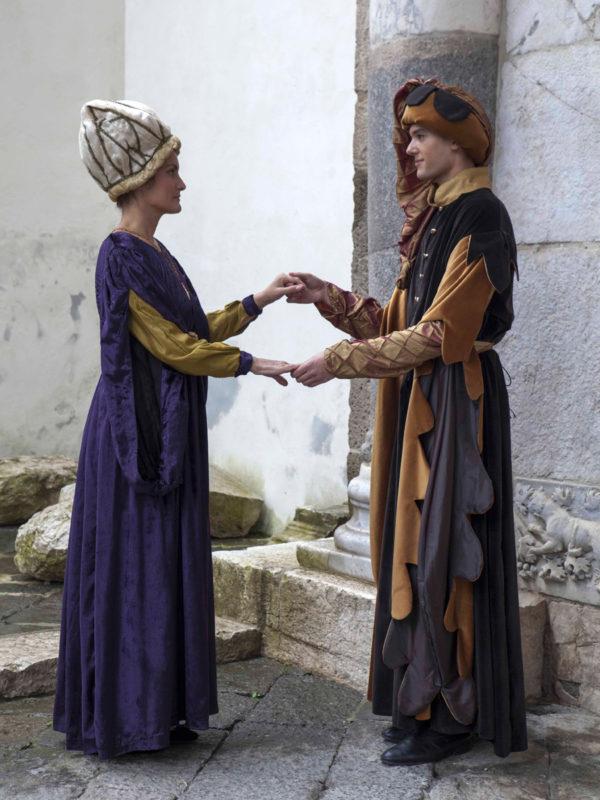 Costumi nobili medievali Artinà