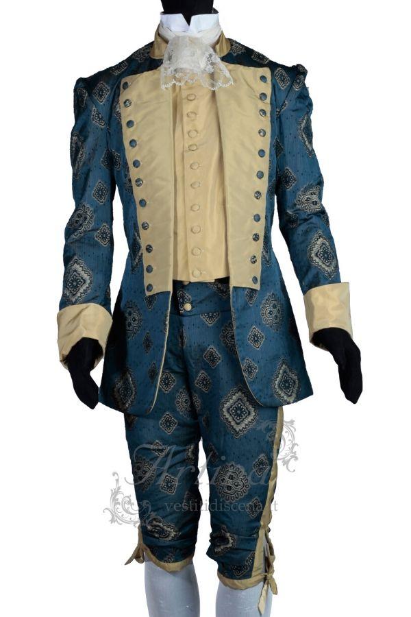abiti-settecenteschi-uomo-blu-oro-avvitato